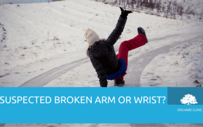 The joys of a Broken Arm or Wrist during the Winter Freeze