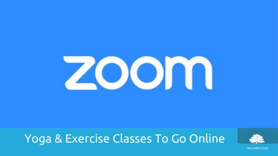 Yoga & Pilates Classes Online via Zoom