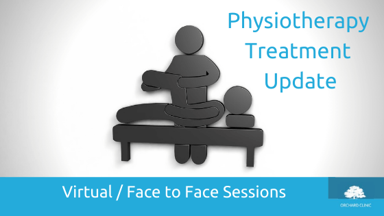 Virtual & Face to Face Physiotherapy Sessions